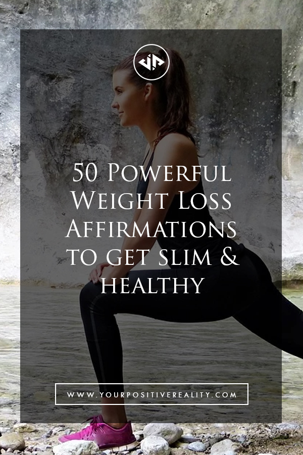 50 Powerful Weight Loss Affirmations